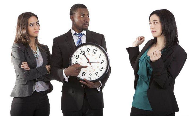 Дисциплинарное взыскание за опоздание на работу: образец