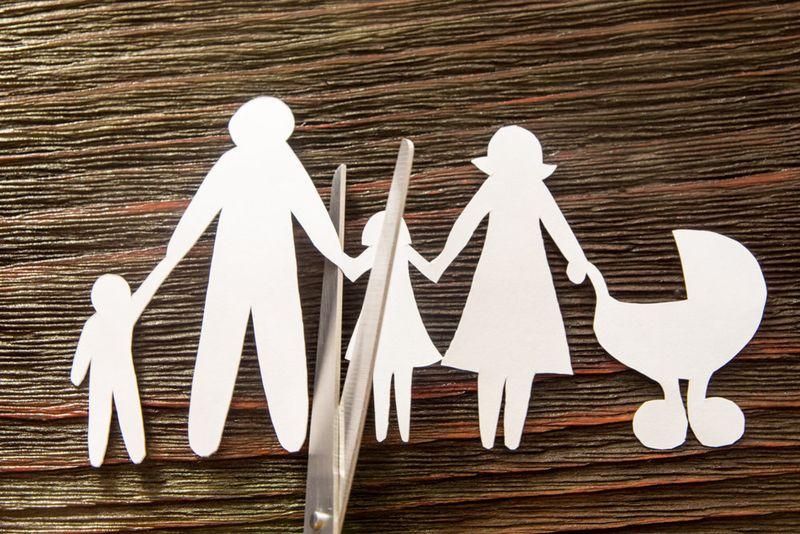 Алименты на ребенка при разделе детей