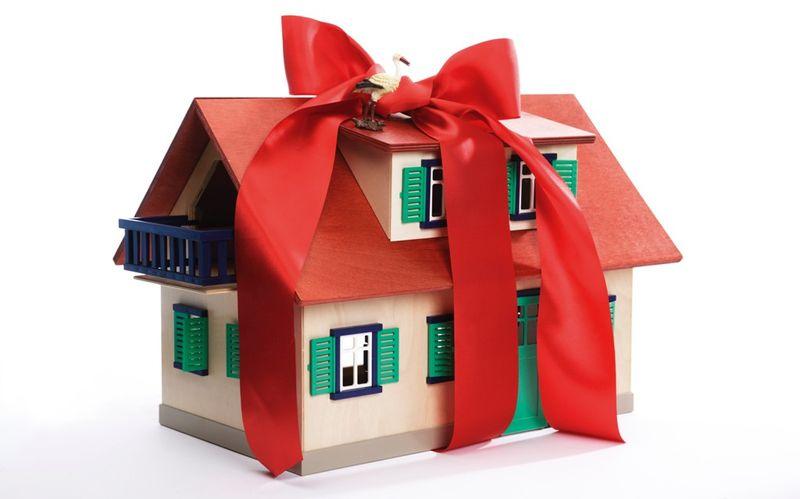 Налог на дарение подарка