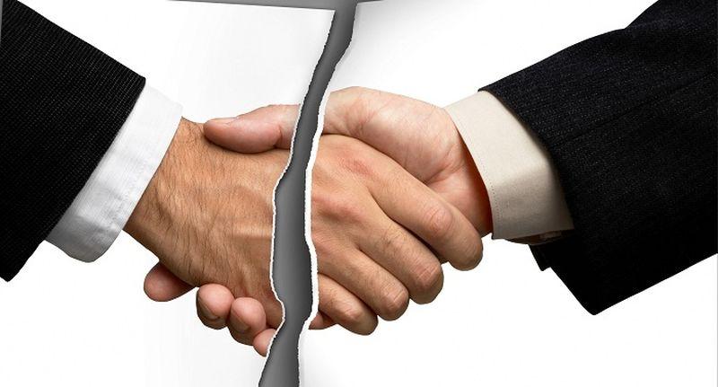 Расторжение договора связи в одностороннем порядке