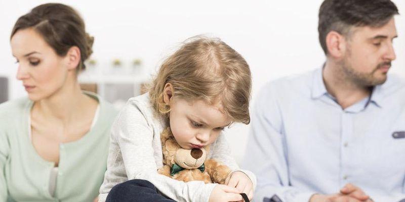 Развод с маленьким ребенком до года