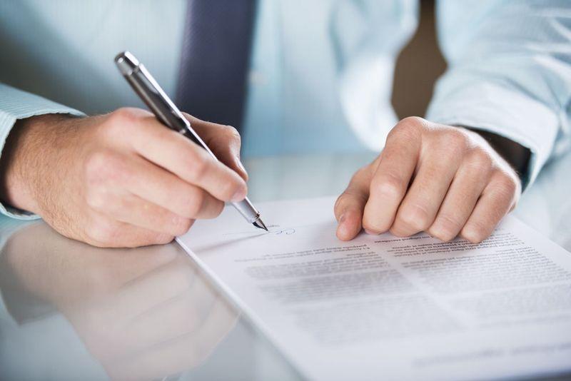 Формы и виды договоров