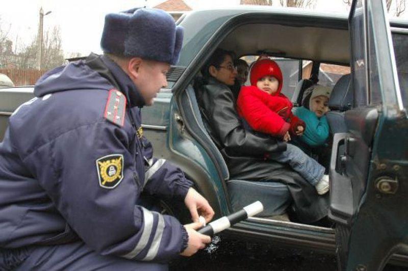 Общие правила перевозки детей в автомобиле