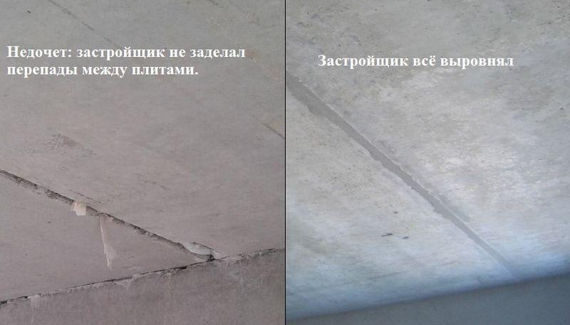 Проверка потолка