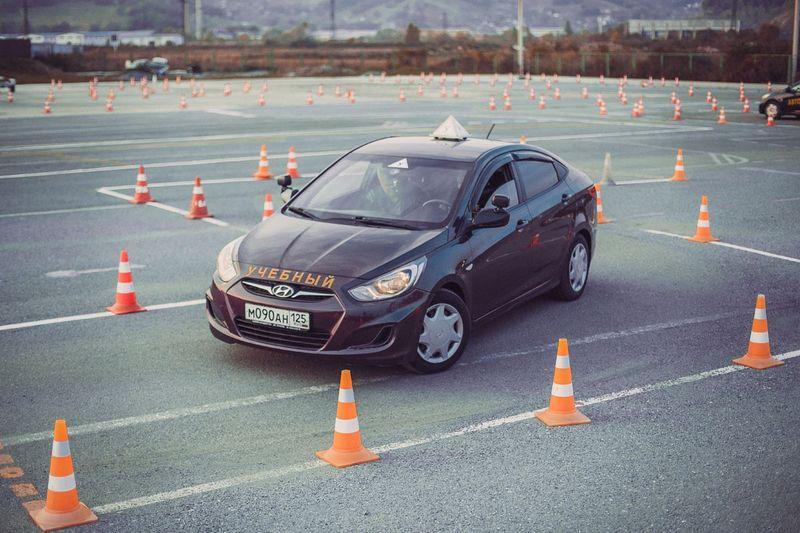 Учимся водить