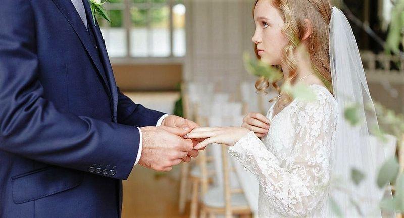 Заключение брака между взрослым и несовершеннолетним