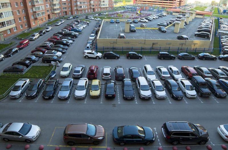 Законность организации парковки во дворе