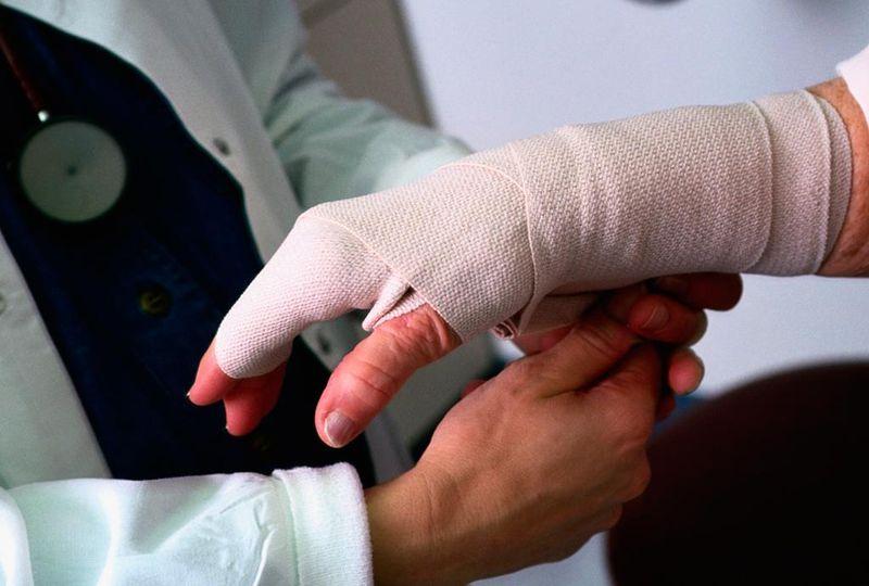Травма после драки на работе