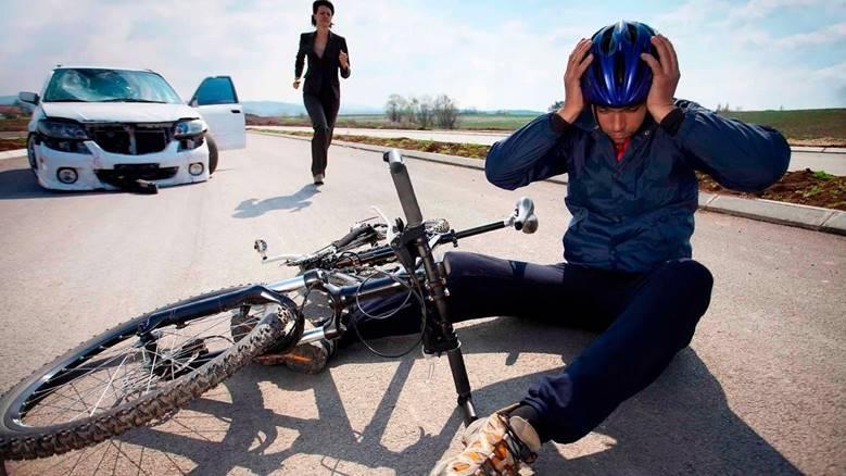 Наезд на велосипедиста